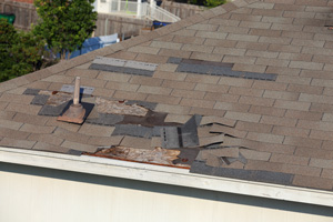 Roof Shingle Blow-off Repair in Gresham, Hillsboro